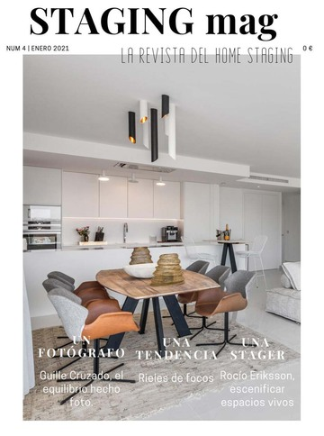 Portada de la revista Staging Mag